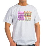 physical therapy will move you PINK.PNG T-Shirt