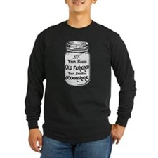 Custom Moonshine Long Sleeve T-Shirt