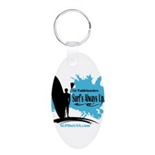 Surf's Always Up Keychains