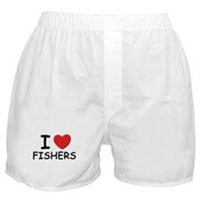 I love fishers Boxer Shorts