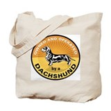 Owned & Operated by a Dachshu Tote Bag