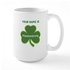 #bostonstrong Shamrock Lt - Personalized! Mug