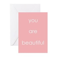 You Are Beautiful Greeting Cards (Pk of 20)