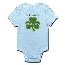 Boston Strong Shamrock Lt - Personalized! Body Sui
