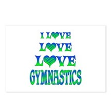 Love Love Gymnastics Postcards (Package of 8)