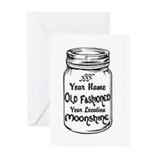 Custom Moonshine Greeting Card
