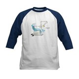 Gary the Great White Shark Baseball Jersey