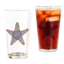 Starfish Squared Drinking Glass