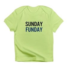 Sunday Funday (black / blue) Infant T-Shirt