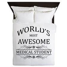 World's Most Awesome Medical Student Queen Duvet