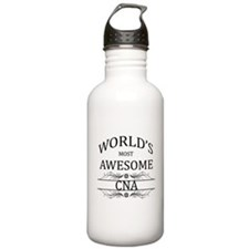 World's Most Awesome CNA Sports Water Bottle