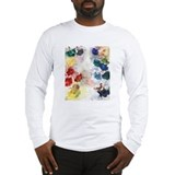 Watercolor Tutu's Long Sleeve T-Shirt