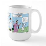 Cartoon Gospels Sheep Large Mug