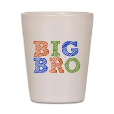 Sketch Style Big Bro Shot Glass