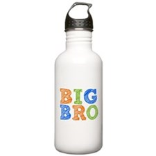 Sketch Style Big Bro Water Bottle