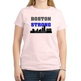 boston strong 60 blue T-Shirt