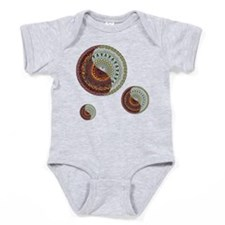Heaven and Hell Dark Baby Bodysuit