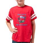 peacedogs.png Jr. Football T-Shirt