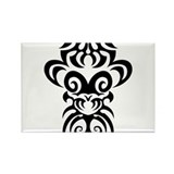 Maori tribal face Rectangle Magnet