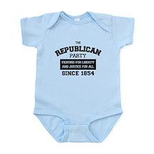 Republican Since 1854 (black print, box) Body Suit