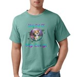Nude Male on Stool Jr. Football T-Shirt