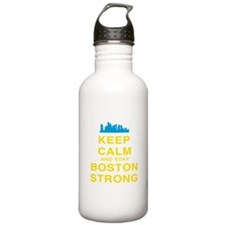 Keep Calm and Boston Strong Water Bottle