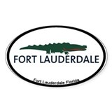 Fort Lauderdale - Alligator Design. Decal