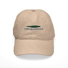Fort Lauderdale - Alligator Design. Baseball Cap