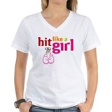 Hit Like a Girl T-Shirt