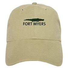 Fort Myers - Alligator Design. Baseball Cap
