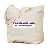Fermented Grape Nut Tote Bag