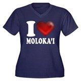 I Heart Molokai Plus Size T-Shirt