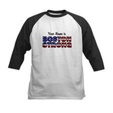 Boston Strong Flag - Personalized! Baseball Jersey
