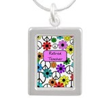 retired teacher iphone case pink Necklaces
