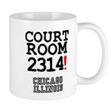 COURT ROOM 2314! - CHICAGO ILLINOIS Z Small Coffee Mug