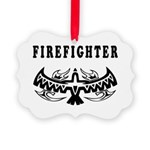 Firefighter Eagle Tattoo Ornament