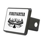 Firefighter Eagle Tattoo Hitch Cover