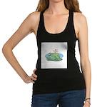 frogs in love copy.jpg Racerback Tank Top