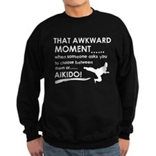Cool Aikido designs Sweatshirt