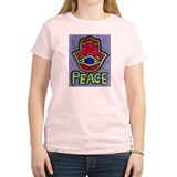 Hamsa Peace #1 Ash Grey T-Shirt