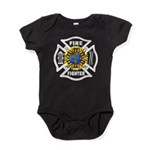Firefighter Solar Baby Bodysuit