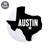 "Austin, TX 3.5"" Button (10 pack)"