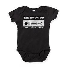Eat Sleep Kickwt.png Baby Bodysuit