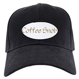 Coffee Snob Baseball Cap