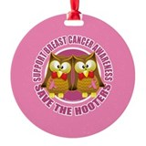 Save the Hooters Circle Ornament