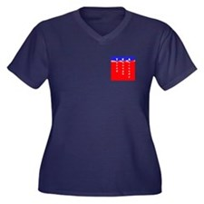 2sided Sequestration Scum Women's Plus Size V-Neck
