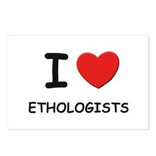 I love ethologists Postcards (Package of 8)