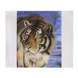 Daddys Tiger Throw Blanket
