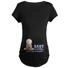 Arriving in August Maternity T-Shirt