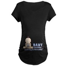 Arriving in November Maternity T-Shirt